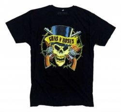 Guns'n'Roses - Pirate Skull In The Ring - T-Shirt