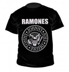 Ramones Crest Logo - T-Shirt