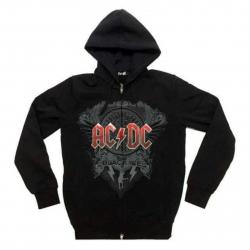 Schwarzer Hoodie AC/DC Black Ice