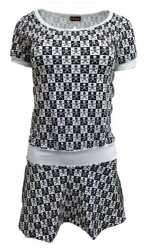 Rockabella Rock Kleid Schachmuster