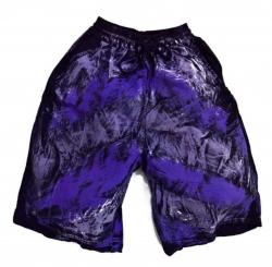Batik Shorts Lila