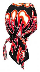 Rocker Bandana Cap Feuer Rot