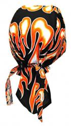 Rocker Bandana Cap Feuer Orange