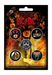 Button Set - AC/DC Highway To Hell