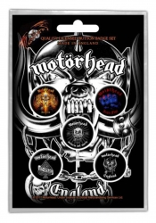 Button Set - Motörhead England