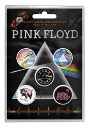 Button Set - Pink Floyd Prism