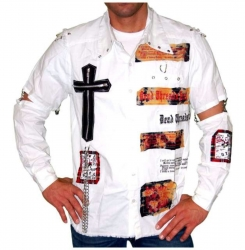 Weißes Hemd Kreuz