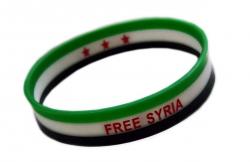 Silikonarmband Free Syrien