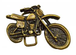 Gürtelschnalle Motorrad