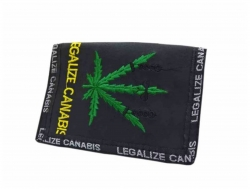 Geldbeutel Legalize Cannabis