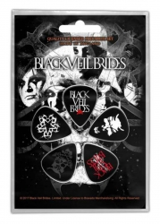 Black Veil Brides Skull Plektrum Pack