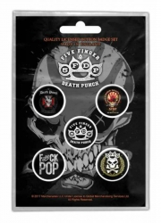Button Set - Five Finger Death Punch 5FDP