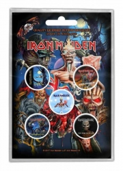 Button Set - Iron Maiden Later Albums