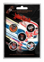 Button Set - Judas Priest Turbo