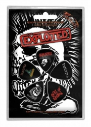 The Exploited Skull Plektrum Pack