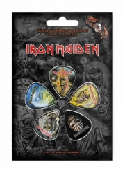 Iron Maiden The Faces Of Eddie Plektrum Pack