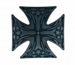 Gürtelschnalle Eisernes Kreuz Silberfarben