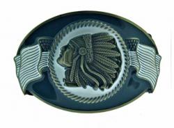 Gürtelschnalle Häuptling Apache USA