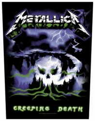 Metallica Creeping Death Rückenaufnäher Patch