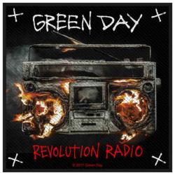Patch Green Day Revolution Radio Aufnäher