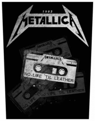 Metallica No Life 'Til Leather Rückenaufnäher Patch