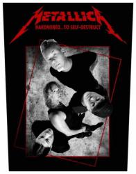 Metallica Hardwired Concrete Rückenaufnäher Patch