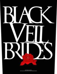 Black Veil Brides Rose Rückenaufnäher Patch