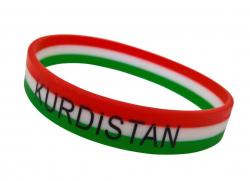 Silicone Wristband Kurdistan