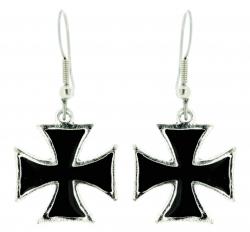 Ohrringe Eisernes Kreuz