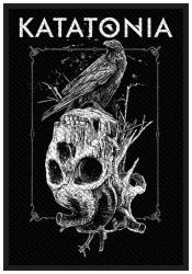 Patch Katatonia Crow Skull Aufnäher