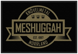 Patch Meshuggah Crest Aufnäher