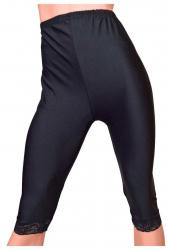 Black Cropped 7/8 Leggings