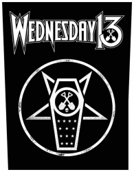 Wednesday13 What the Night brings Rückenaufnäher Patch