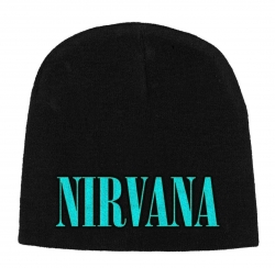 Beanie with Nirvana Logo