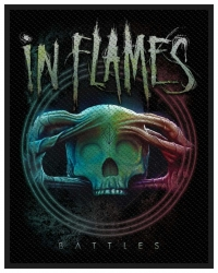 In Flames Battles Aufnäher