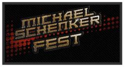 Michael Schenker Fest Logo Aufnäher