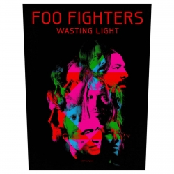 Foo Fighters Rückenaufnäher Wasting Light