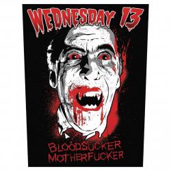 Wednesday13 Rückenaufnäher Bloodsucker