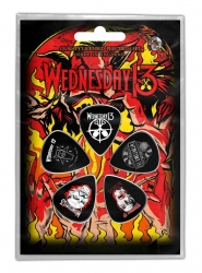 Wednesday13 Logo Shovels Plektrum Pack