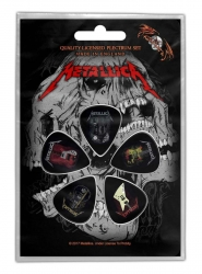 Metallica Guitars Plektrum Pack