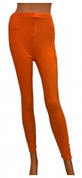 Damen Leggings Orange