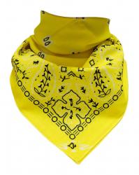 Trendy XL Bandana Paisley Gelb