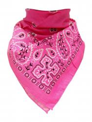 Trendy XL Bandana Paisley Rosa