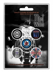 The Who Button Set - Quadrophenia