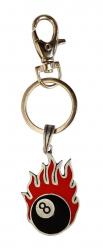 Schlüsselanhänger Flammende Acht