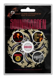 Soundgarden Button Set - Badmotorfinger