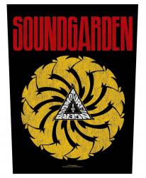 Soundgarden Rückenaufnäher Patch Badmotorfinger