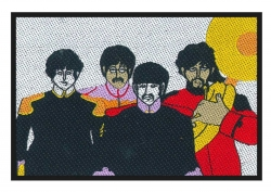 The Beatles Aufnäher Faces