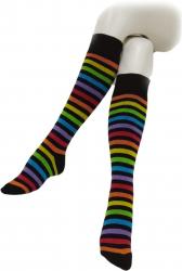 Knee Socks Multicolour Stripes