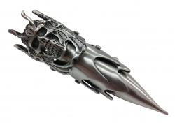 Gothic Full Finger Ring Devils Skull
